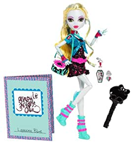 Mattel Monster High BBC11 -  Nachtschwärmer Lagoona, Puppe