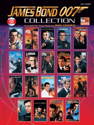 James Bond 007 Collection: Book & CD: Easy Piano (Easy Piano (Warner Bros.)) Picture