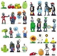 Yangtze 32 x Plants vs Zombies Juguetes Series juego de rol cifras de la presentaciš®n de juguetes Decoraciš®n PVC