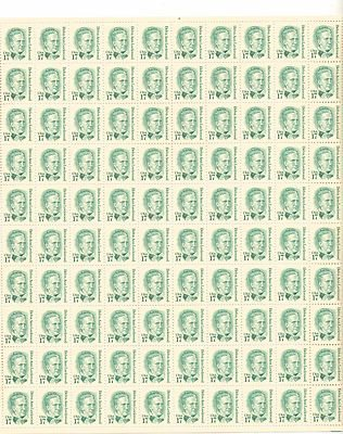 Belva Ann Lockwood Sheet of 100 x 17 Cent US Postage Stamps NEW Scot 2178