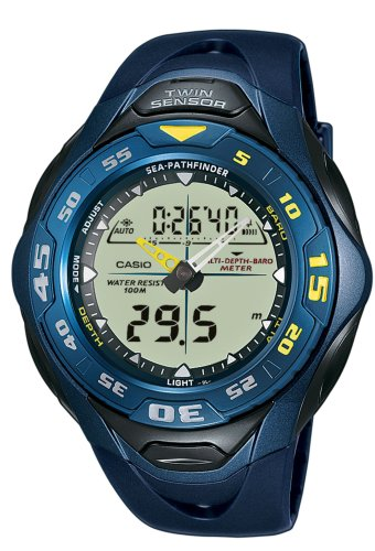 Casio SPF-60S-2VER Mens Resin Strap Combination Watch