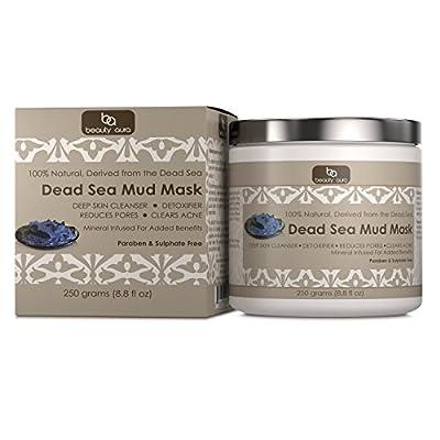 Beauty Aura Dead Sea Mud Mask 250 Grams (8.8 fl oz)