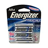 Energizer Ultimate Lithium Batteries AAA (Per 4)