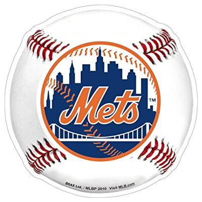 MLB New York Mets 3D Baseball Magnets (Set of 2)
