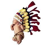Happy Cherry Neugeborenes Baby Indianer Figur Foto Kostüm...