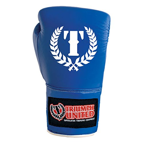 Triumph United Competition Boxing Gloves - Blue (Triumph United Gloves compare prices)