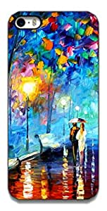 The Racoon Lean printed designer hard back mobile phone case cover for Apple Iphone 5/5s. (A Walk to)