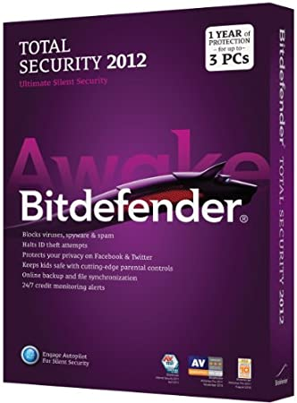 Bitdefender Total Security 2012 Standard M1 3Pc/1 Year