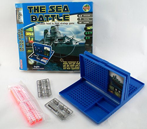 The Sea Battle War Ship Strategy Game [Toy] - 1
