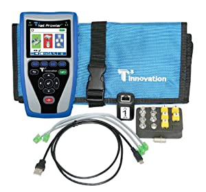 T3 Innovation NP700 Net Prowler Cabling and Advanced Network Tester