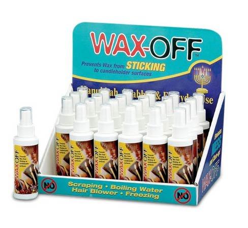 wax off wax stick prevention home garden decor candle holders menorahs. Black Bedroom Furniture Sets. Home Design Ideas