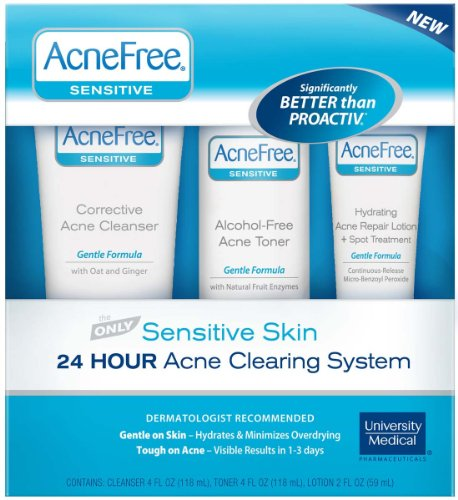 AcneFree Sensitive Skin Acne System