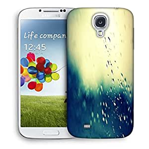 Snoogg Water Drops Designer Protective Phone Back Case Cover For Samsung Galaxy S4