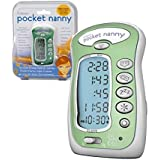 Pocket Nanny By Itzbeen Personal Baby Care Timer (Green) - Award Winning Must-Have for Moms