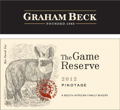 2012 Graham Beck Game Reserve Pinotage 750 Ml