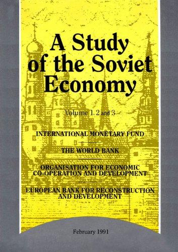 A Study of the Soviet Economy: 3-Volume Set: Vols 1-3