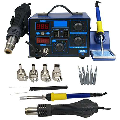 Find Cheap Zeny® Pro 2in1 862bd+ Lead-free Soldering Station SMD Rework Welding Tool Digital Repair...