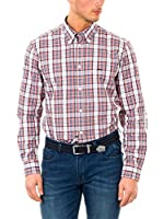McGregor Camisa Hombre Disty Bond B Bd Rf Ls (Multicolor)