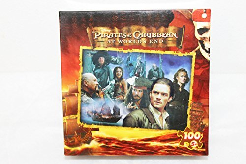 Disney Pirates of the Caribbean At World's End The Quest All Characters Collage Puzzle 100 pieces