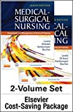 img - for Medical-Surgical Nursing - Two-Volume Text and Elsevier Adaptive Learning and Quizzing Package (Retail Access Card), 9e book / textbook / text book