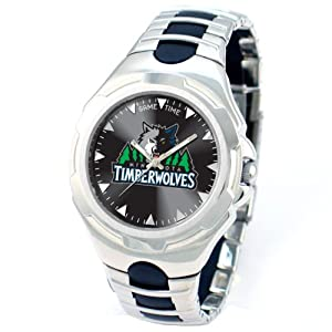 NBA Mens NBA-VIC-MIN Victory Series Minnesota Timberwolves Watch by Game Time