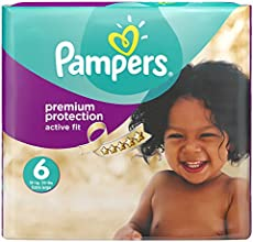 Pampers Windeln Active Fit Extra Large 15+ kg Monatsbox, 120 Stück