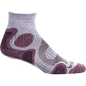 Bridgedale X-Hale Trail Diva Sock - Women's Heather/Damson, S