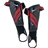Nike Protegga Shield Shin Guards (LARGE), Large/Black/Red