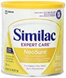 Similac NeoSure Infant Formula Powder with Iron, 13.1-Ounces (Pack of 6)