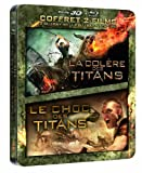 echange, troc Le Choc des Titans + La Colère des Titans - Boîtier métal - Coffret Blu-ray + Blu-ray 3D [Blu-ray]