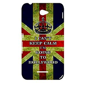 Skin4gadgets I CAN'T KEEP CALM I'm GOING TO HOLLYWOOD - Colour - UK Flag Phone Designer CASE for SONY XPERIA E4
