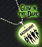 Razorlight Glow In The Dark Premium Guitar Pick Necklace / Chain