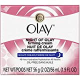 Olay Night Of Olay Firming Cream, 2.0 oz., 3 Count