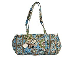 Vera Bradley Small Duffel Bag in Bali Blue