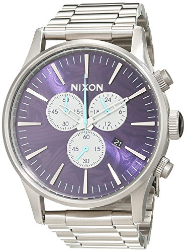 Nixon Unisex Reloj de pulsera analógico cuarzo acero inoxidable a386230