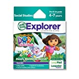 LeapFrog Leapster Explorer Game: Dora the Explorer Dora's Worldwide Rescueby Leapfrog