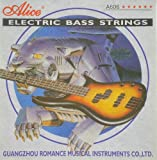Alice Stahl Gitarrensaiten für E-Bass light