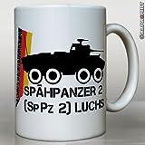 Tasse Spähpanzer 2 Luchs-SpPz2 Bundeswehr Panzeraufklärer achträdriger amphibischer Panzer Deutschland Heer Heeresaufklärungstru...