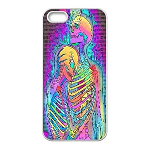 Amazon.com: IPhone 5,5S Case Skeleton Hugs Cute for Girls ...