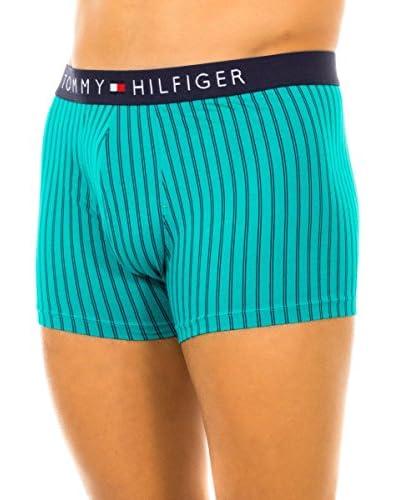 Tommy Hilfiger Bóxer Verde / Azul