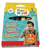Mister Maker Jumbo Wax Crayons (Pack of 6)