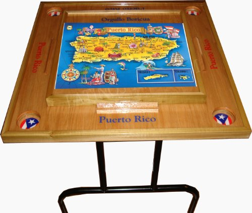 Buy Puerto Rico Domino Table with the Map by latinos r us
