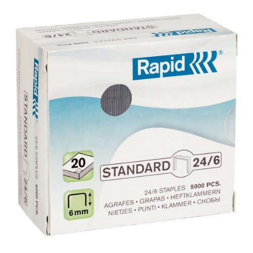 Rapid 24/6 Strong Galvanised Staples