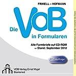 Die VOB in Formularen, CD-ROM Alle Fo...