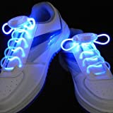 LED Light Glow Flashing Shoelaces Shoe Strings Color