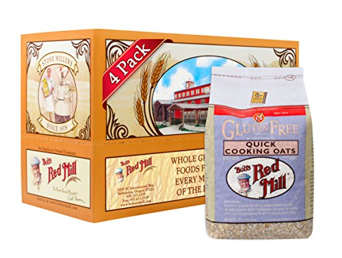 bobs-red-mill-gluten-free-quick-cooking-rolled-oats-32-ounce-pack-of-4