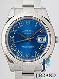 [ロレックス]ROLEX 腕時計 パーペチュアル デイトジャストⅡ ブルーローマ 116334 メンズ [並行輸入品]