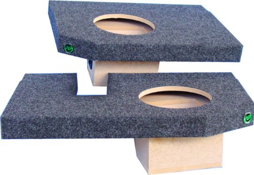 Audio Enhancers Dq30C10 Dodge Ram Subwoofer Box, Carpeted Finish