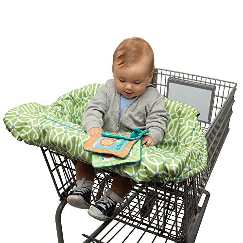Boppy Shopping Cart Cover, Green