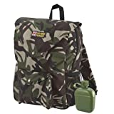 HM Armed Forces Back Pack with Water Bottleby Character